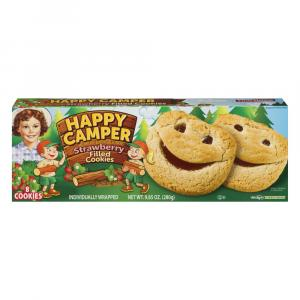 Little Debbie Happy Camper Cookies Strawberry Filled
