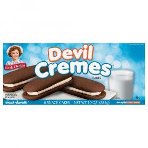 Little Debbie Devil Cremes Cakes