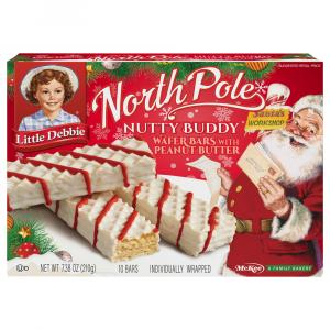 Little Debbie North Pole Nutty Bars