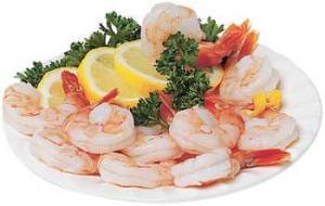 Raw Fresh Water Shell-on Shrimp - Farm Raised