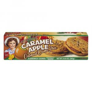 Little Debbie Caramel Apple Oatmeal Creme Pies Cookies