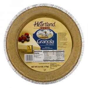 Heartland Baking Granola Pie Crust
