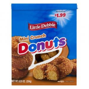 Little Debbie Crunch Bagged Mini Donuts