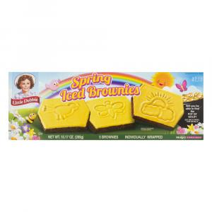 Little Debbie Spring Iced Brownies