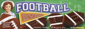 Little Debbie Football Brownies