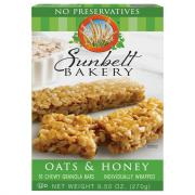 Sunbelt Bakery Oats & Honey Chew Granola Bars