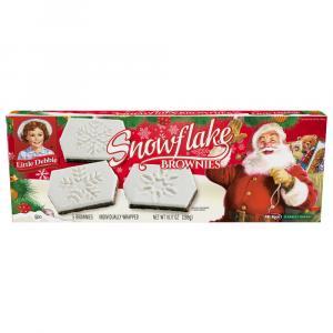 Little Debbie Snowflake Brownies