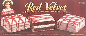 Little Debbie Red Velvet Creme Filled Cakes