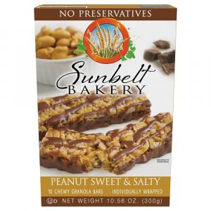 Sunbelt Bakery Peanut Sweet & Salty Chewy Granola Bars