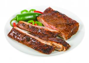 Sweet And Spicy Half Rack Pork Ribs