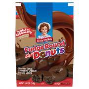 Little Debbie Double Chocolate Mini Donuts