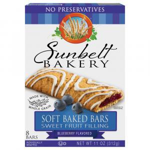 Sunbelt Blueberry Cereal Bars