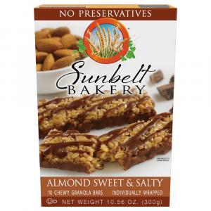Sunbelt Bakery Almond Sweet & Salty Chewy Granola Bars