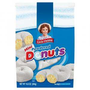 Little Debbie Powdered Bagged Mini Donuts