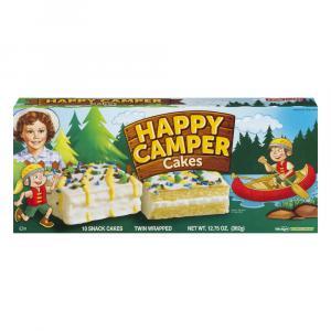 Little Debbie Happy Camper Cakes Vanilla