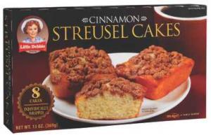 Little Debbie Cinnamon Streusel Cakes