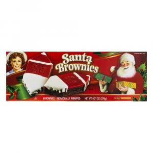 Little Debbie Santa Brownies