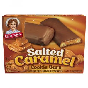 Little Debbie Salted Caramel Cookie Bars