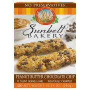 Sunbelt Bakery Peanut Butter Chocolate Chip Granola Bars