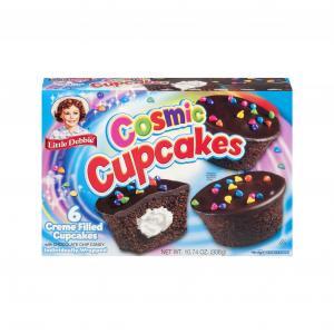 Little Debbie Cosmic Cupcakes