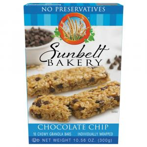 Sunbelt Bakery Chocolate Chip Chewy Granola Bars