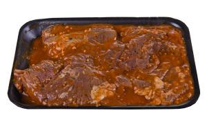 Marinated Peppercorn Steak Tips