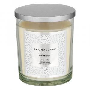 Aromascape White Lily Candle