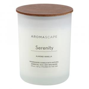 Aroma Serenity Almond Vanilla Candle