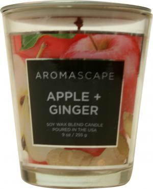 Aromascape Apple & Ginger Candle