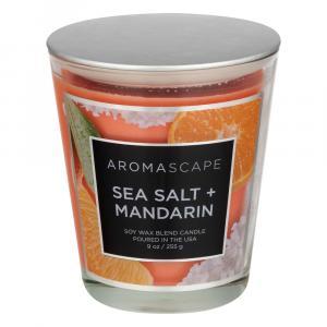 Aromascape Sea Salt & Mandarin Candle