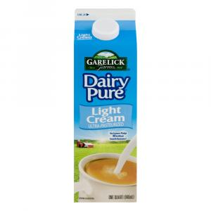 Dairy Pure Ultra-Pasteurized Light Cream