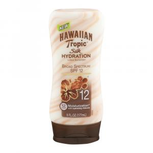 Hawaiian Tropic Silk Hydration Tanning Lotion Spf 12