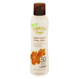 Hawaiian Tropic Sheer Touch Creme Lotion Spf 50