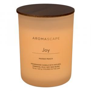 Aromascape Joy Mango Peach Candle