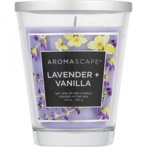 Aromascape Lavender + Vanilla Soy Wax Blend Candle