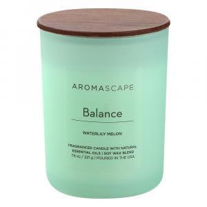 Aromascape Balance Waterlily Melon Candle