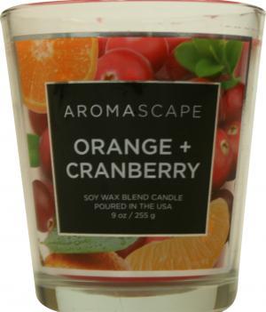 Aromascape Orange & Cranberry Candle