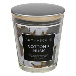 Aromascape Cotton & Musk Candle