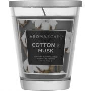 Aromascape Cotton + Musk Soy Wax Blend Candle