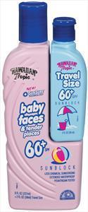 Hawaiian Tropic Baby Faces Sunblock Spf 60+