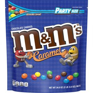 M&M's Caramel Chocolate Candies Party Size