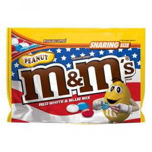 M&M's Peanut Red, White & Blue Mix Chocolate Candies