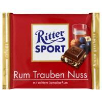 Ritter Sport Rum Trauben Nuss (Milk Chocolate)