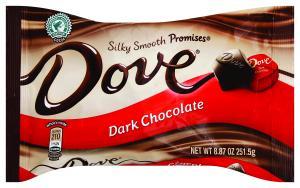 Dove Dark Chocolate Silky Smooth Promises
