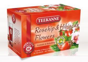 Teekanne Rosehip & Hibiscus Tea Bags