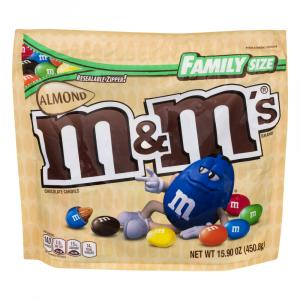M&M's Almond Chocolate Family Size