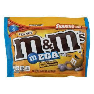 M&M's Peanut Mega Chocolate Candies