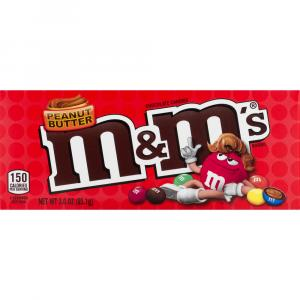 M&m's Peanut Butter Theater Box