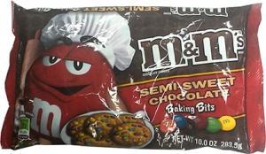 M&m's Semi Sweet Chocolate Baking Bits