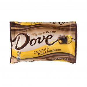 Dove Caramel And Milk Chocolate Silky Smooth Promises